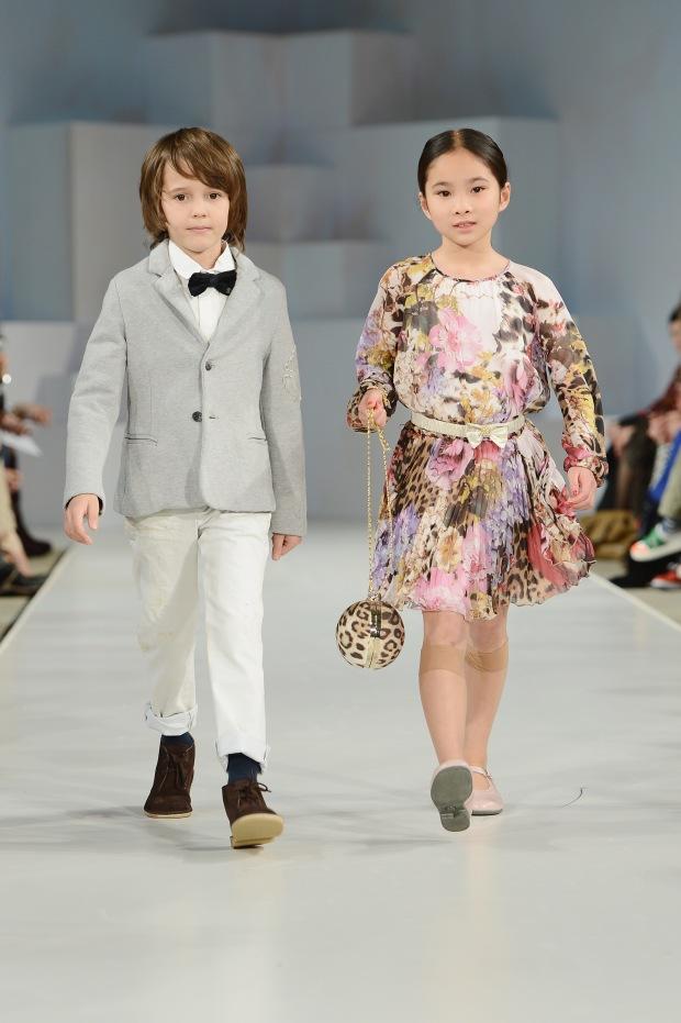 Global Kids Fashion Week AW13 Media And VIP Show - Arrivals