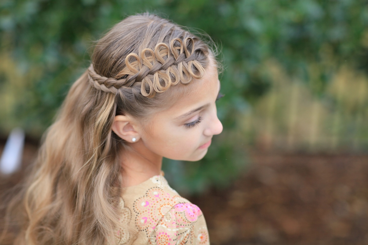 Girl Hairstyle : Adorable hairstyles for little girls kids gallore