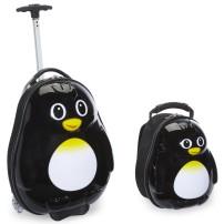 TrendyKid-2-Piece-Percy-Penguin-Childrens-Luggage-Set-TB101