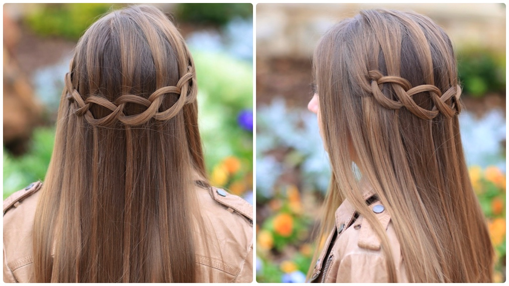 Loop Waterfall Braid
